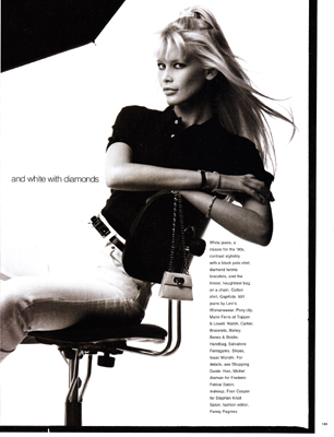 Edit 1994 07 elle us - Galerij bensimon ...